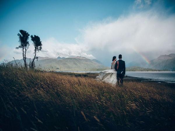 thiên nhiên hòa mình cùng tình yêu -tại Ten Anau, New Zealand