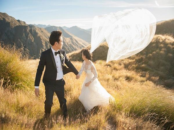 ảnh cưới bay bổng