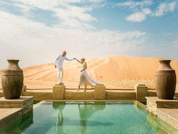 ảnh cưới ở sa mạc
