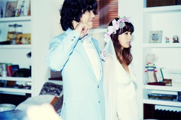 ảnh cưới kpop