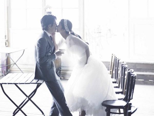 bộ ảnh cưới đẹp của sao hàn