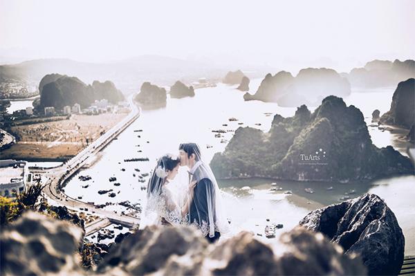 bộ ảnh cưới độc đáo