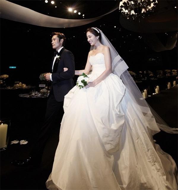 lễ cưới ngôi sao han quốc