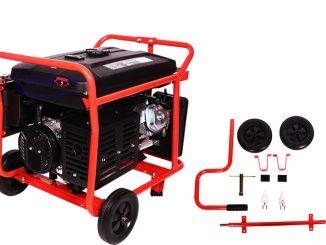 Sử dụng máy phát điện chạy xăng