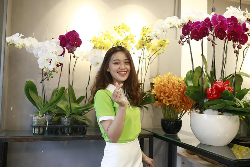 Shop có dịch vụ giao hoa tại nhà vô cùng tiện lợi