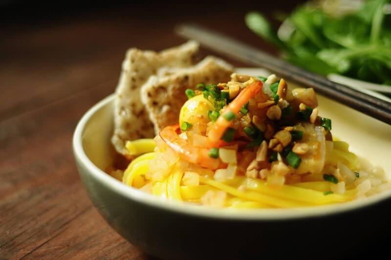 Mì quảng chính là món ăn đặc trưng nhất của xứ Quảng