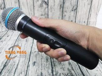 Micro karaoke thương hiệu Shure có tốt không?