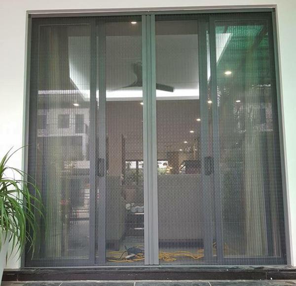Chú ý đến thiết kế cửa lưới chống muỗi